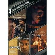 4 Film Favorites: Denzel Washington Training Day   John Q   Fallen   The Pelican Brief by WARNER HOME ENTERTAINMENT