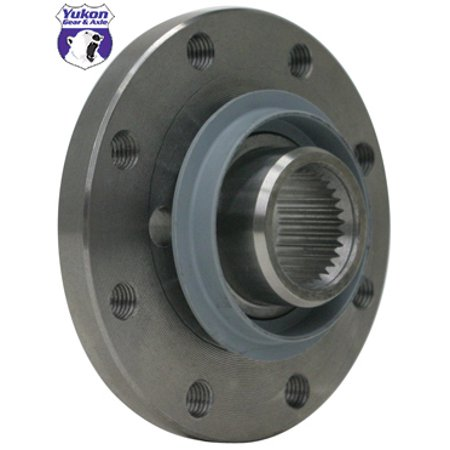 Yukon Flange Yoke For Ford 10 25  And 10 5  With Long Spline Pinion   Yy F100606