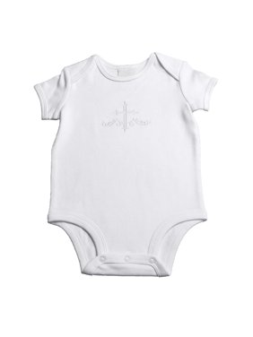 Boys Super Soft 100% Cotton Undee with Embroidered Cross (Baby Boy)
