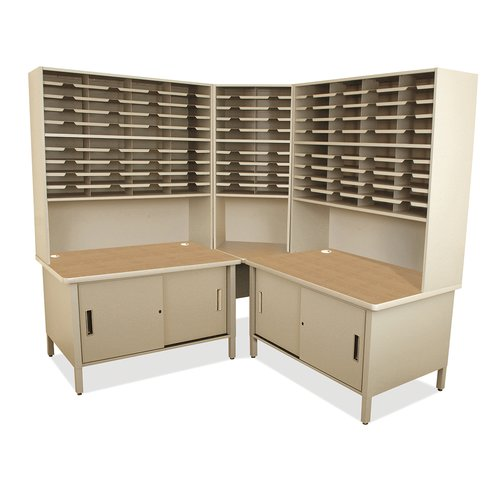 Marvel Office Furniture 100 Compartment Mailroom Organizer