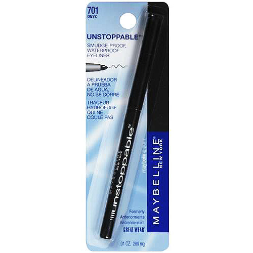 Maybelline New York Unstoppable Eyeliner, Onyx 0.01 Oz