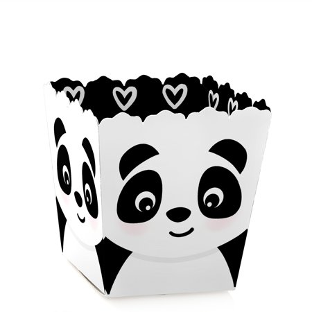 Party Like a Panda Bear - Party Mini Favor Boxes - Baby Shower or Birthday Party Treat Candy Boxes - Set](Panda Bear Party Supplies)