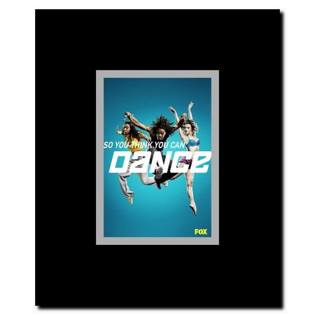 So You Think You Can Dance (TV) Framed Movie (Dance Movie Poster)
