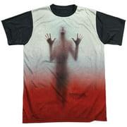 Psycho Men's  Shower Sublimation T-shirt White
