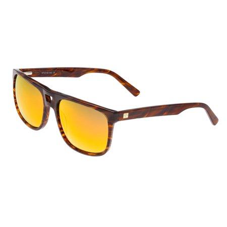 Sixty One Morea Yellow-red Wayfarer Sunglasses