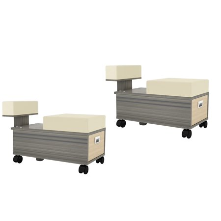 Pedicure Trolley ALERA Pedicure Cart with Foot Rest for Nail Salon and Spa ()