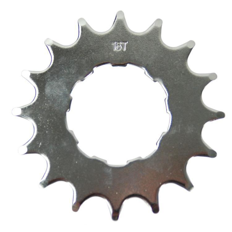 16T Fixed Gear / FIXIE Cog Silver for Quando SS Hub