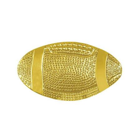 1.20 in. Chenille Football Lapel Pin, Bright -