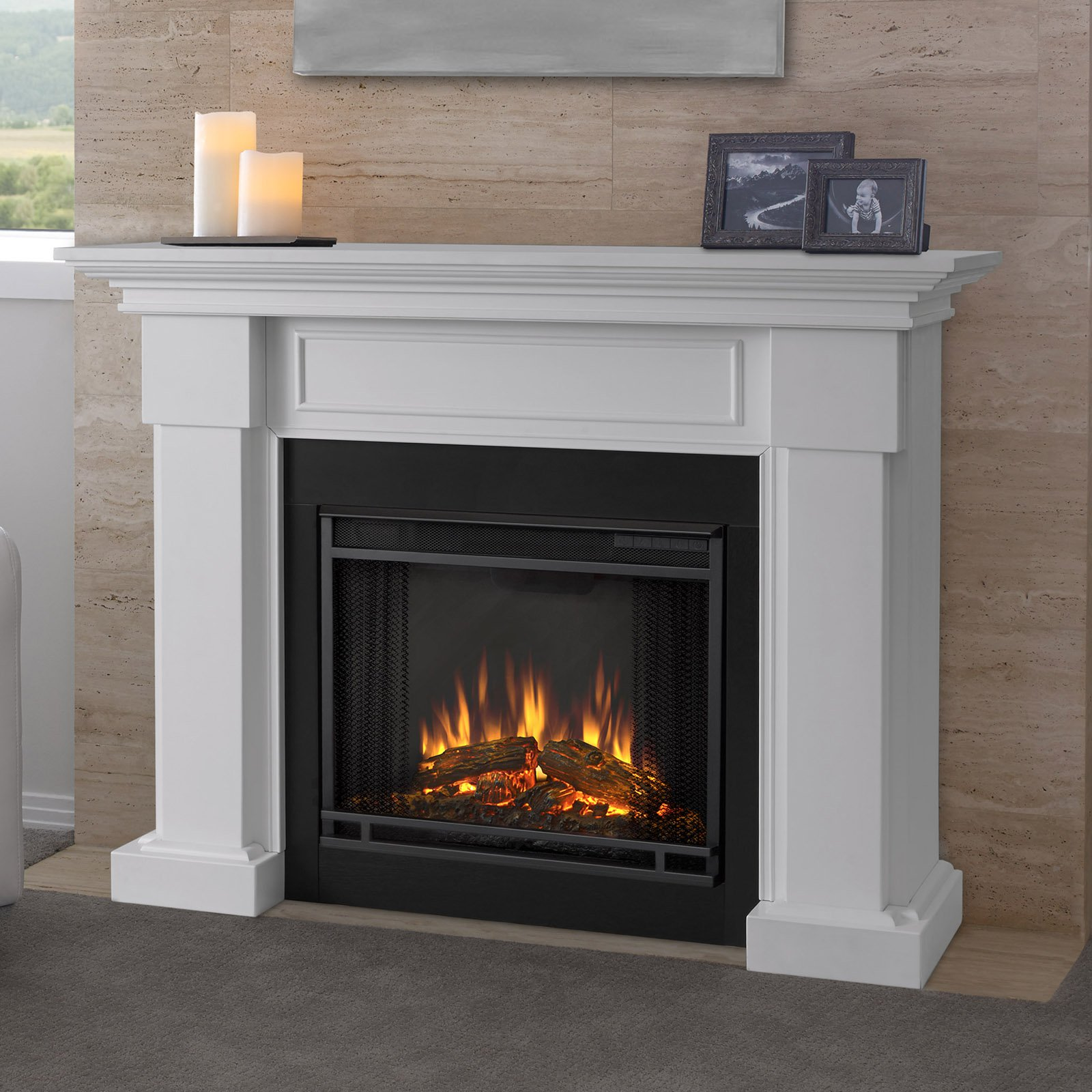 Free Shipping. Buy Real Flame Hillcrest Electric Fireplace at Walmart.com