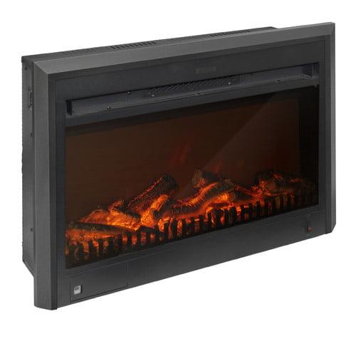 CorLiving Electric Fireplace Insert - Walmart.com