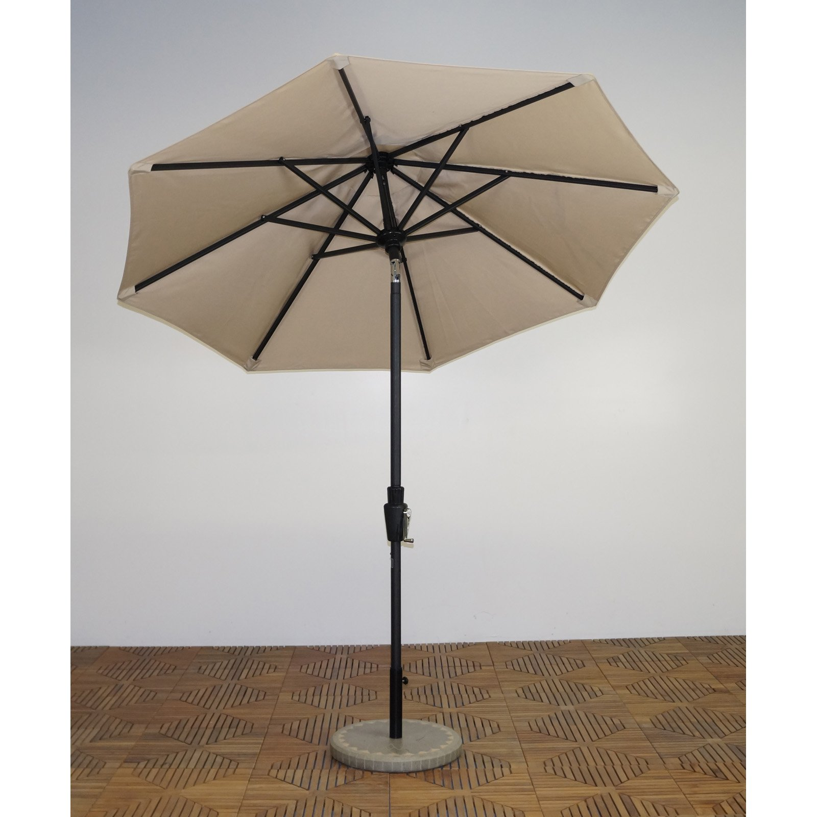 Shade Trends 7.5 ft. Premium Market Umbrella - Licorice Frame