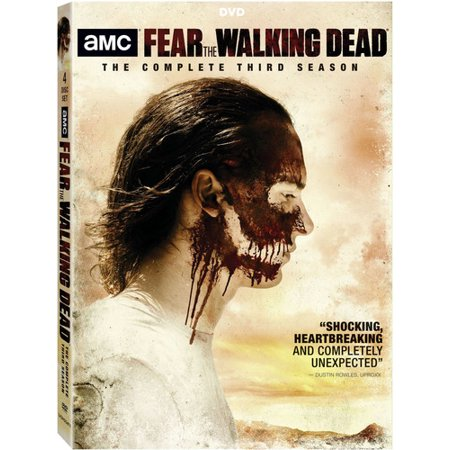 Fear The Walking Dead: The Complete Third Season (DVD) (Walking Dead Makeup)
