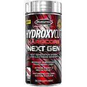 Hydroxycut Hardcore Next Gen Weight Loss & Energy Supplement, 180 Capsules