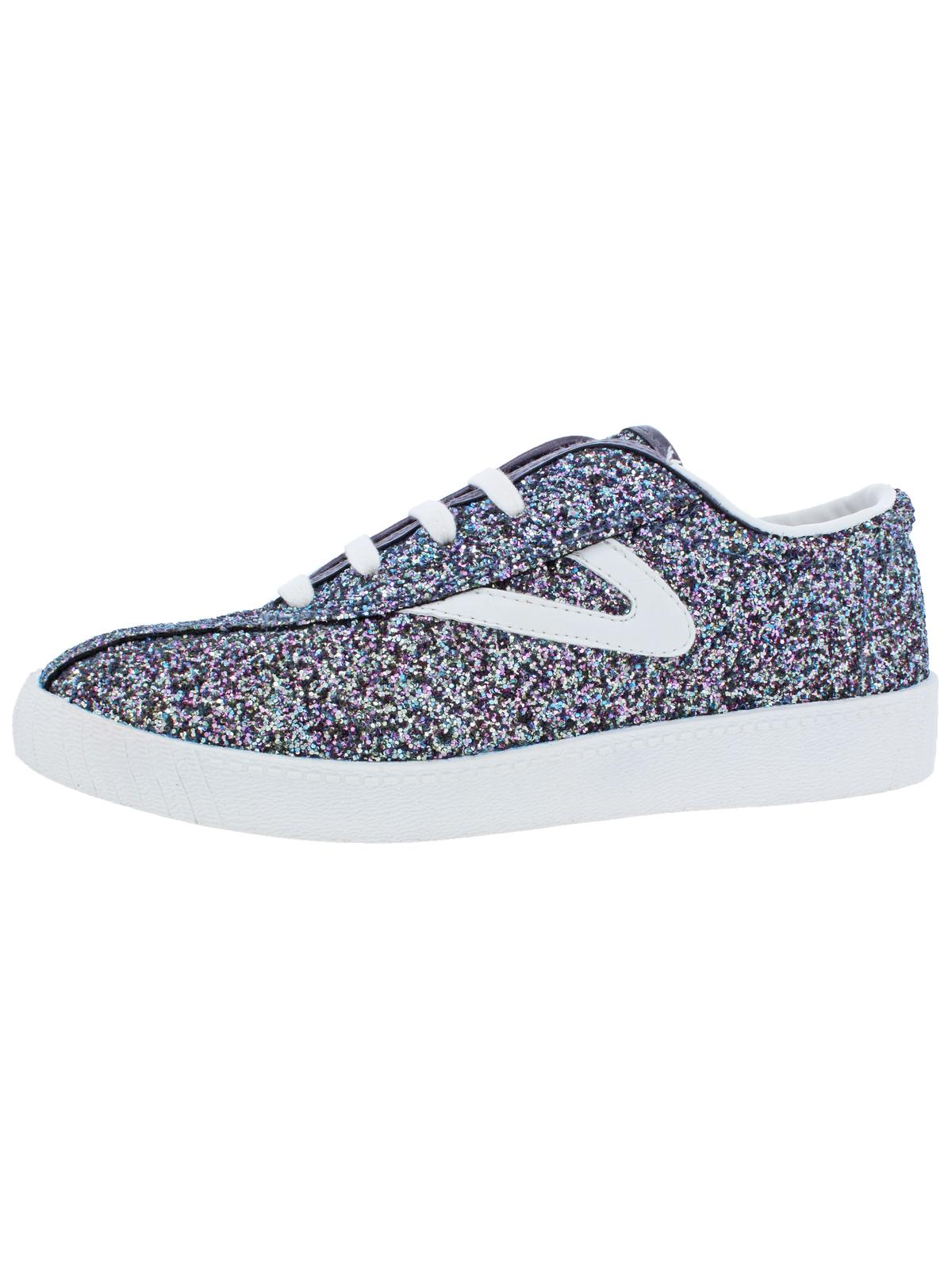 Tretorn Girls NYlite Sugar Padded Insole Glitter Fashion Sneakers by Tretorn
