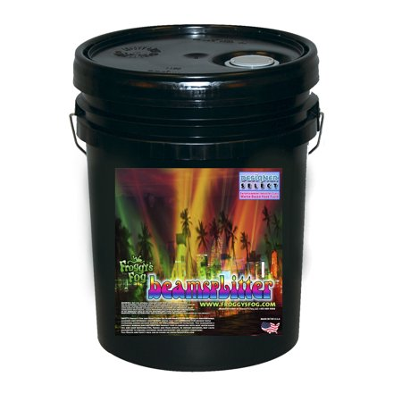 Beam Splitter   Professional Water Based Haze Juice   Premium Haze Machine Fluid   5 Gallon Pail