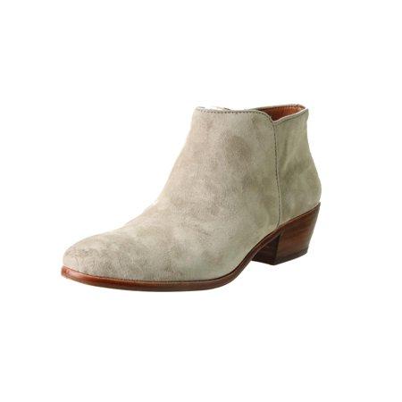 082794b615b1 Sam Edelman - Sam Edelman Womens Petty Contrast Trim Block Heel Ankle Boots  - Walmart.com