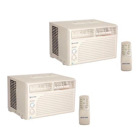 - 2) Cool Living 10,000 BTU Energy Star AC Window Mount Air Conditioners A/C