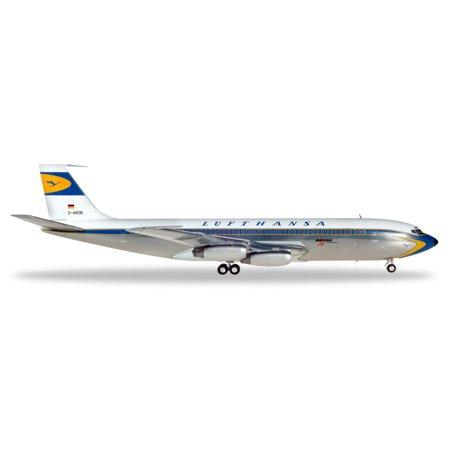 Herpa Wings 557818-001 Lufthansa Boeing 707-400 1/200 Scale Diecast Model