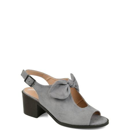 Brinley Co. Womens Bow Accent Peep Toe Sandal ()