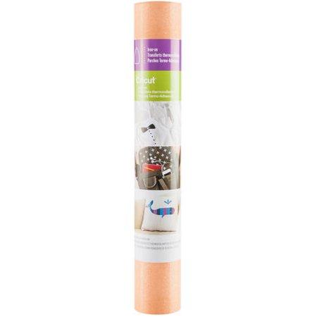 """Cricut Glitter Iron-On, Fluorescent Orange - 12""""x19"""""""