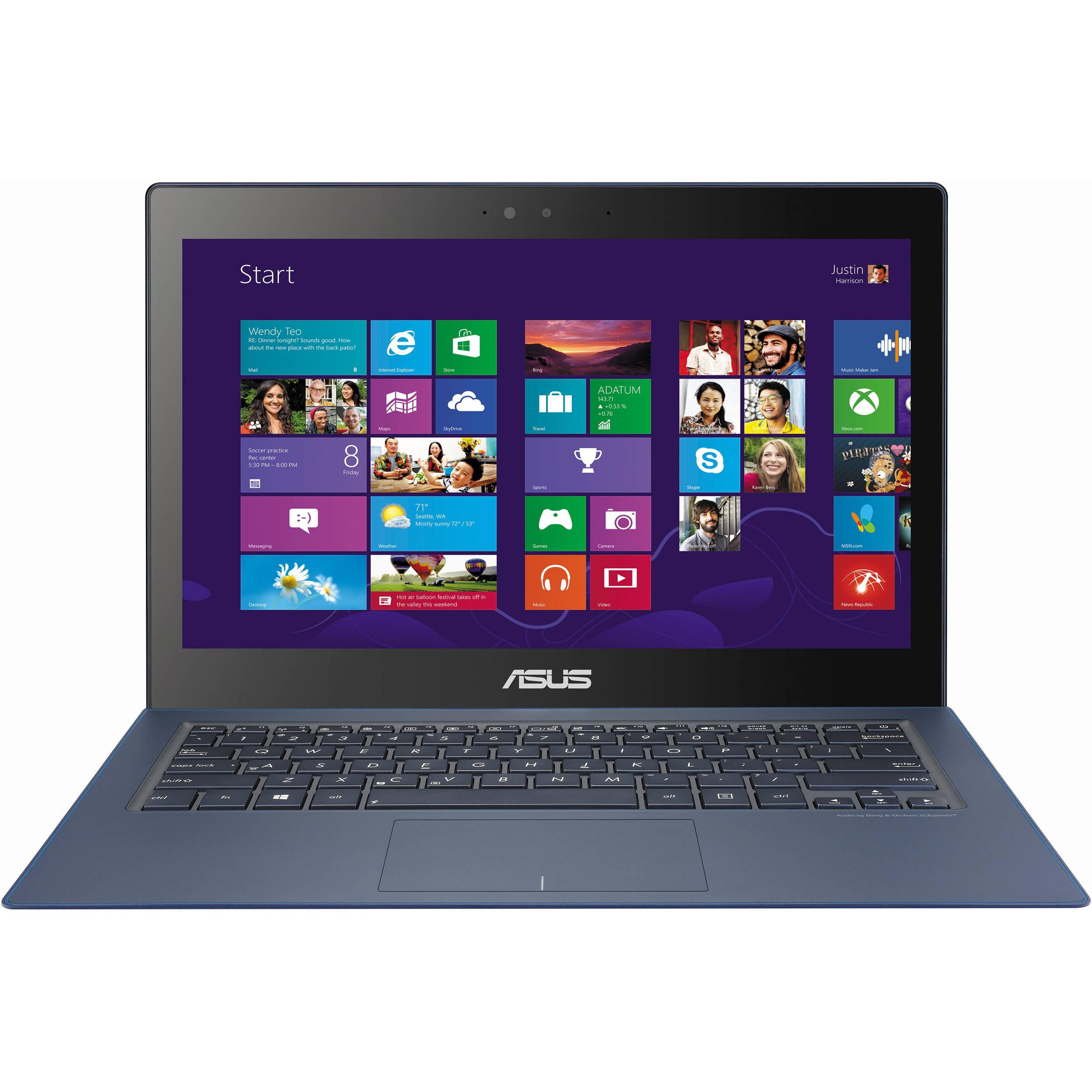 New Asus UX301LA 13.3 Touch Laptop i7-5500U 2.4GHz 8GB 256GB SSD Win10|UX301LA-WS71T by ASUS