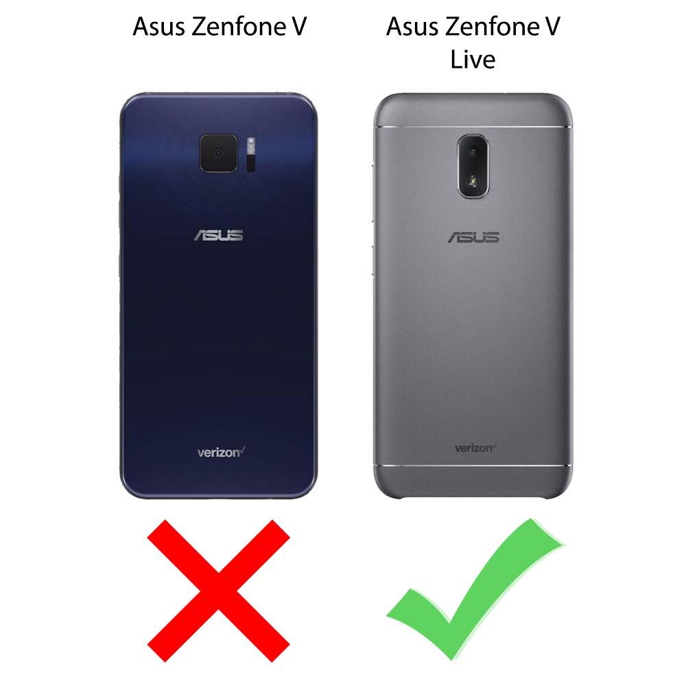 size 40 61bfa 3de8f Asus Zenfone V Live Case - Extra Rugged Phone Protective ShockProof Design