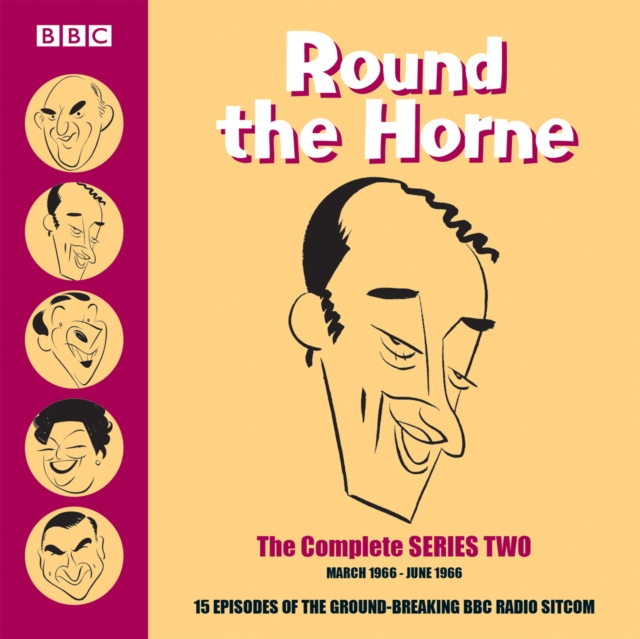 Round the Horne: Complete Series 2 : 15 Episodes of the Groundbreaking BBC Radio Comedy