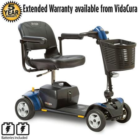 Pride Mobility GoGo Elite Traveller Plus 4 Wheel Travel Scooter w/ Avail Ext