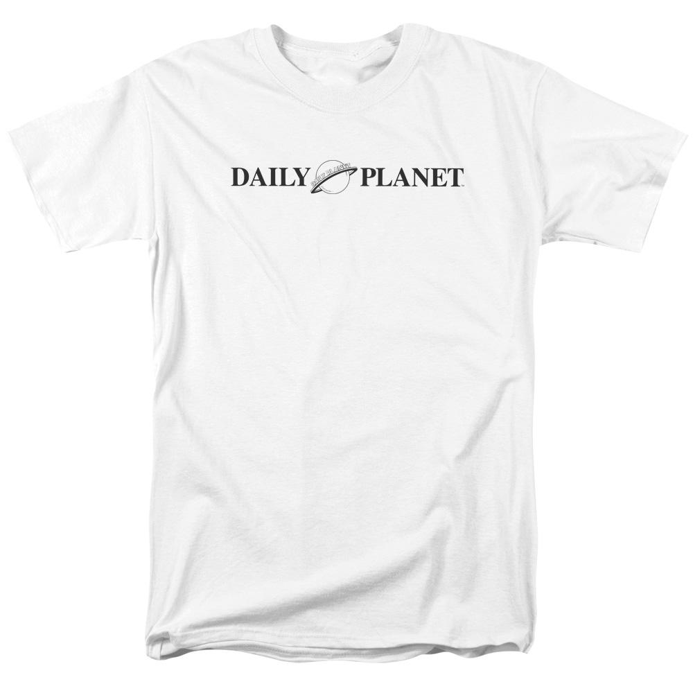 Superman DAILY PLANET LOGO Licensed Adult Tank Top All Sizes
