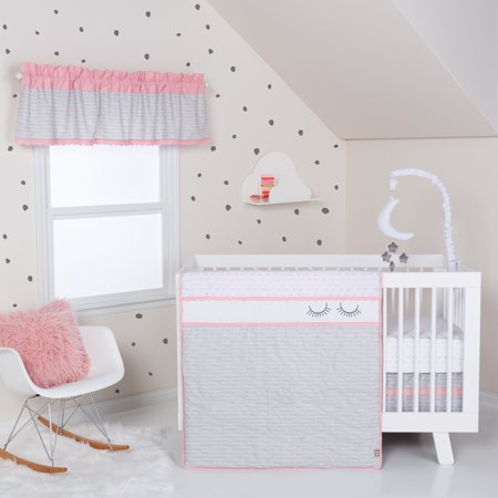 - Trend Lab Be Happy 3 Piece Crib Bedding Set