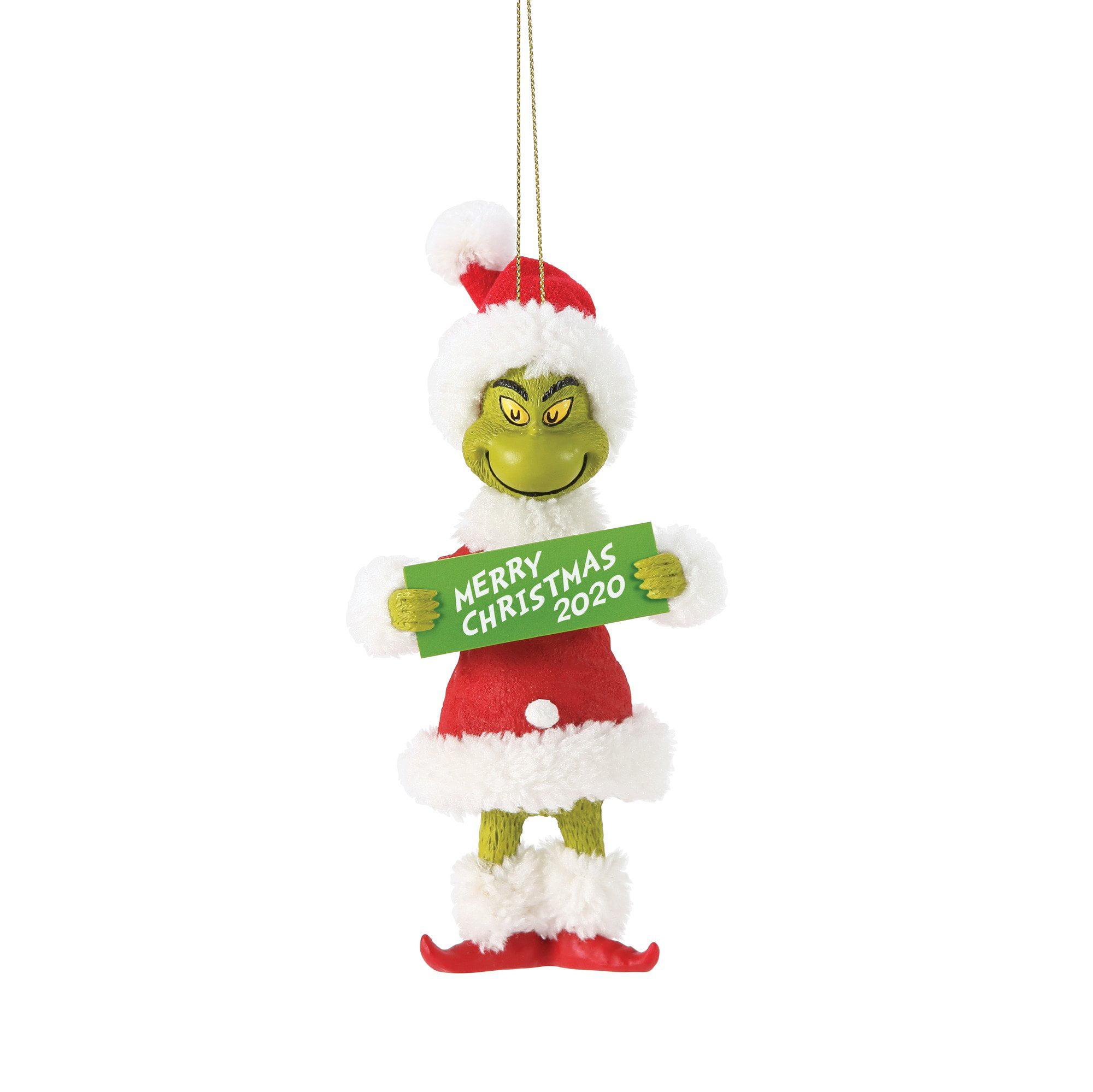 Dr. Seuss Grinch Merry Christmas 18 Ornament New   Walmart.com