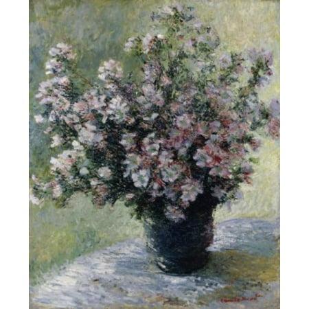 Vase Of Flowers  Claude Monet  1840 1926French  Canvas Art   Claude Monet  18 X 24
