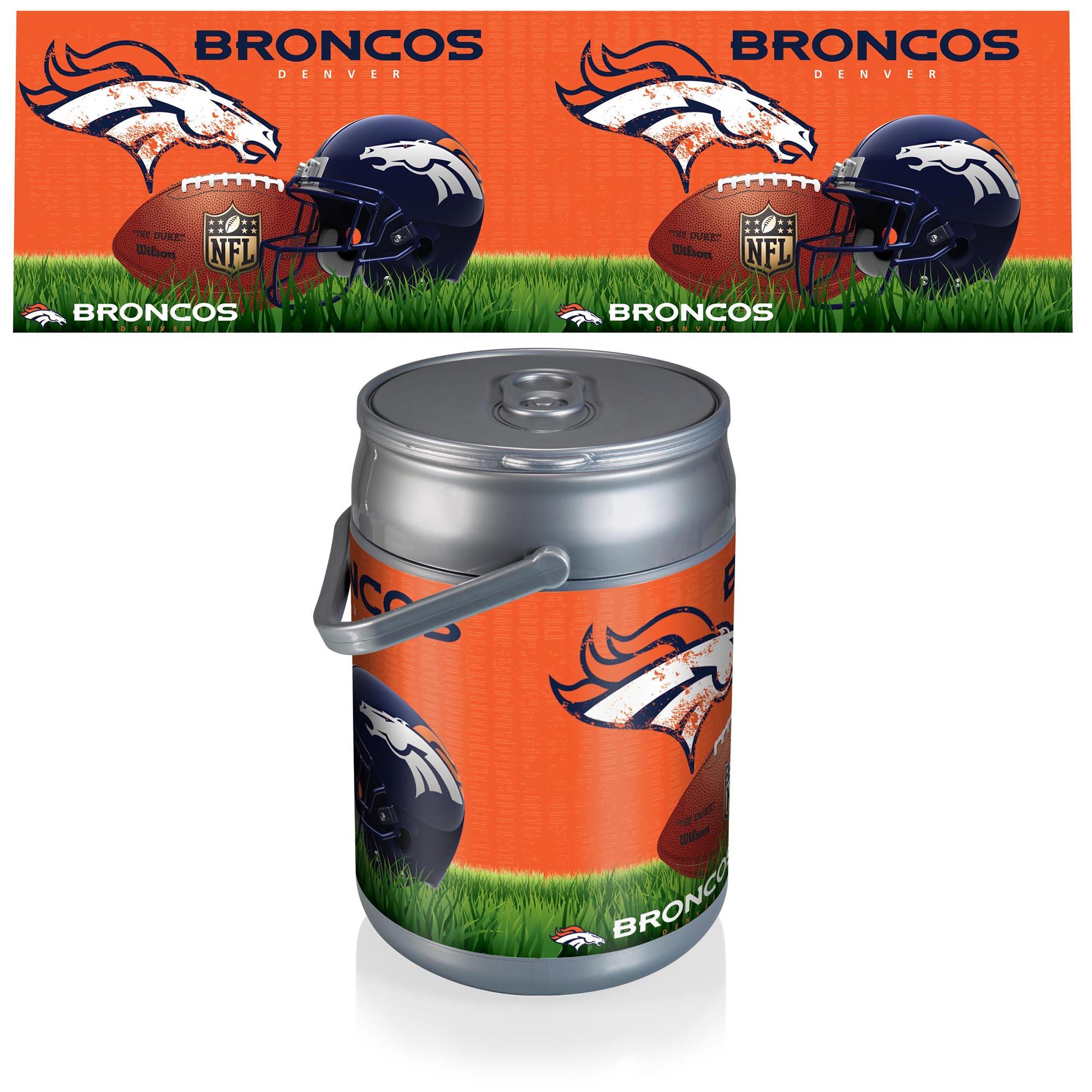 Denver Broncos Football Can Cooler - No Size