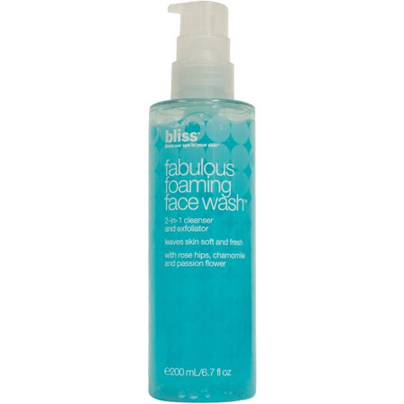 Bliss Fabulous Foaming Face Wash  6 7 Fl Oz