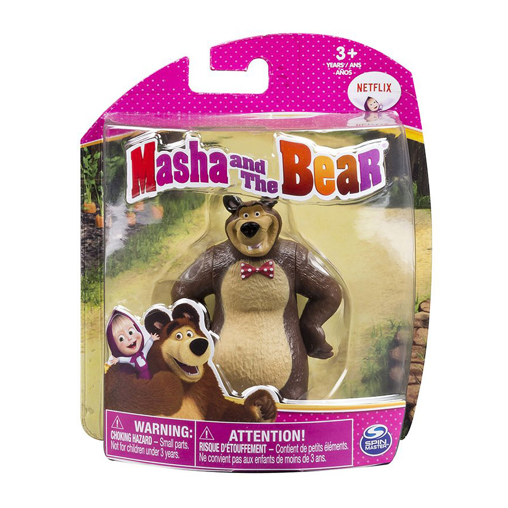 MASHA AND THE BEAR FIGURE ASST