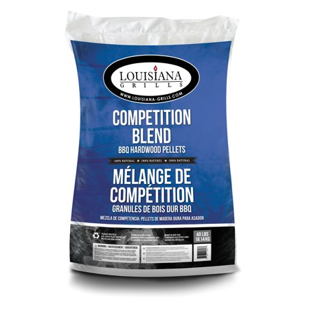 Louisiana Grills All Natural Hardwood Pellets, Competition Blend, 40 lbs ()