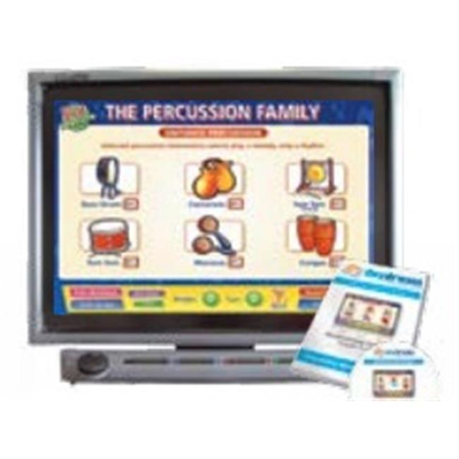 Daydream Education DD-MU-5-19 The Percussion Family Interactive Software, Single User