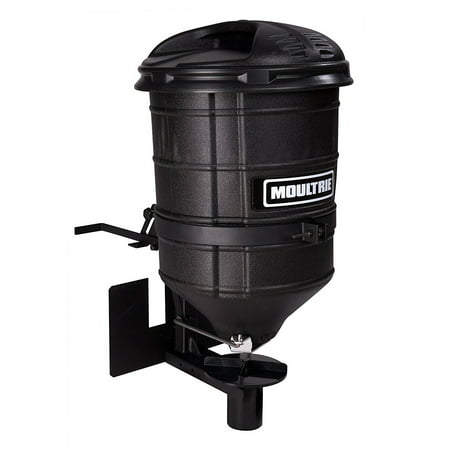 Atv Seed Spreader - Moultrie Manual Gate ATV 100 Pound Capacity Food Plot Seed Spreader | MSS-12721