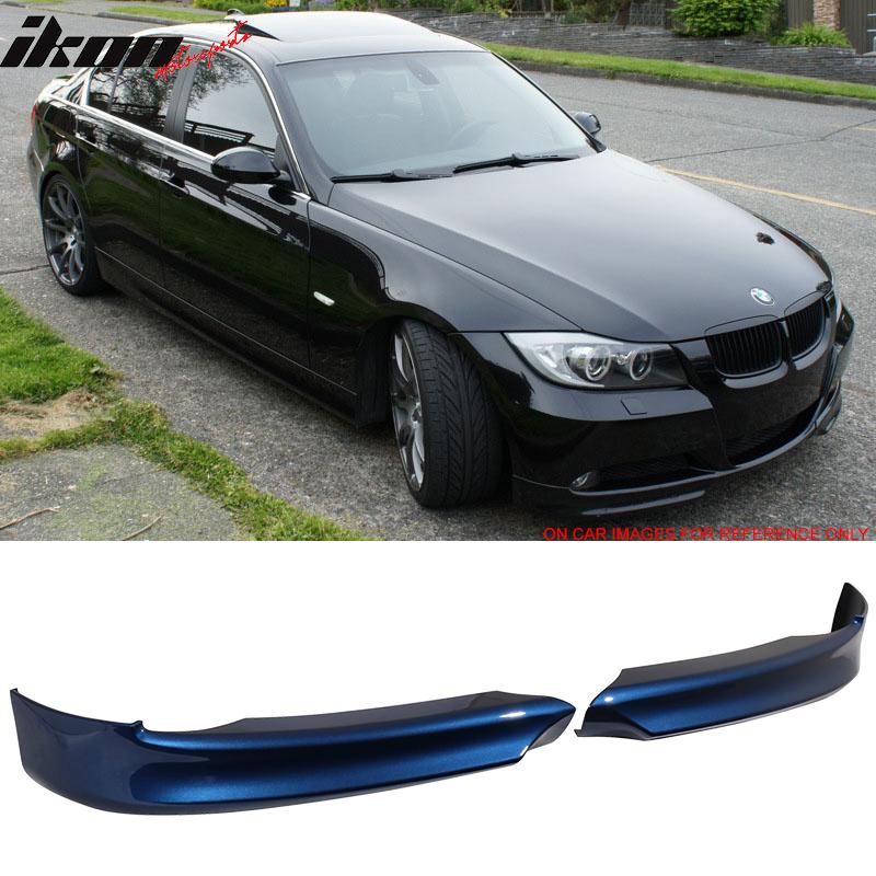 Fits 06-08 BMW 3 Series E90 OE Style PP Front Splitter Lip Spoiler