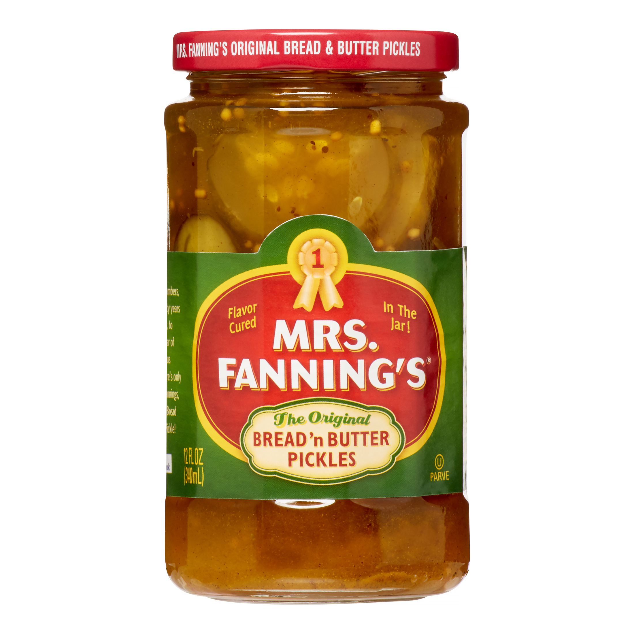 Mrs. Fanning's Bread'n Butter Pickles The Original, 12.0 FL OZ by B&G