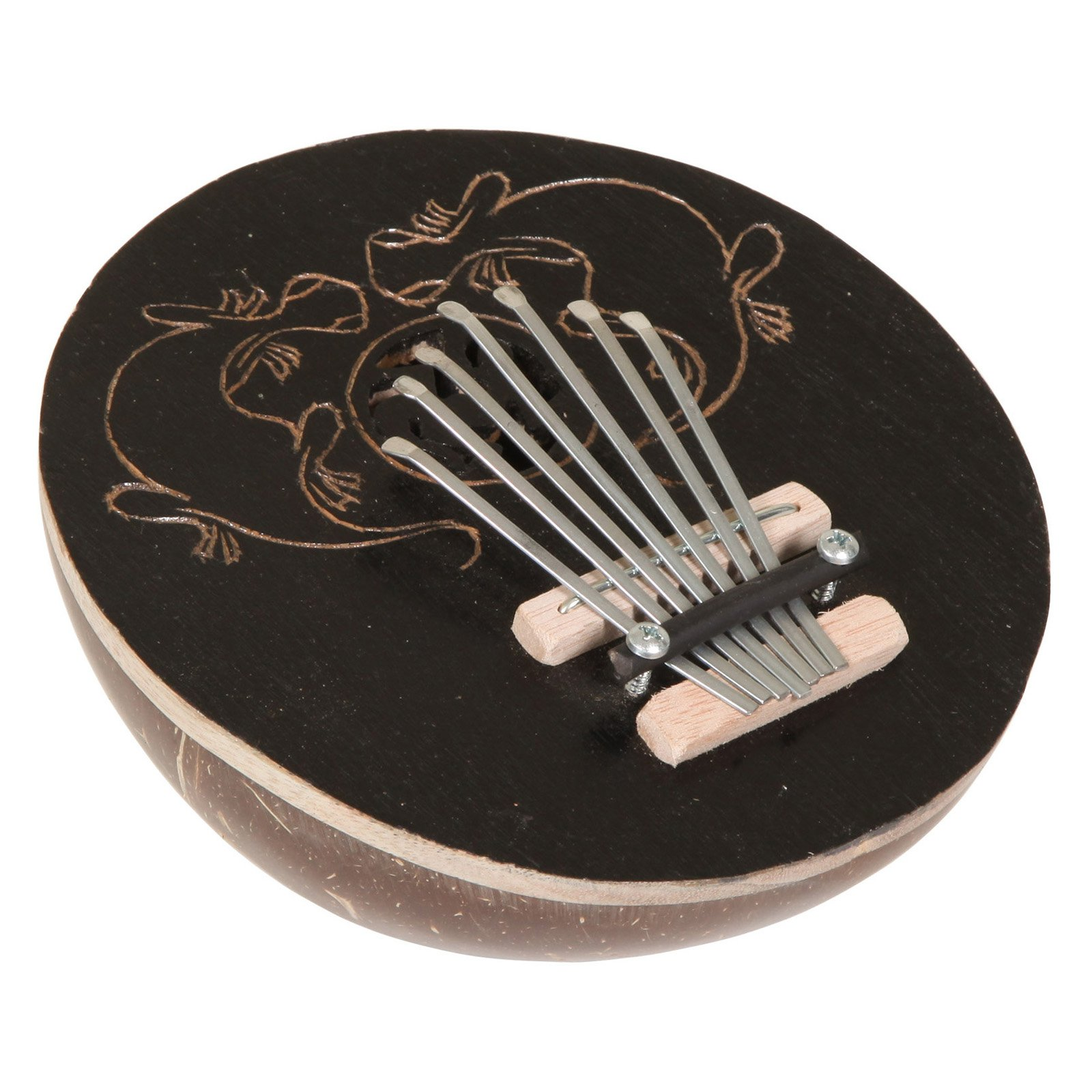 X8 Drums Coconut Kalimba Gecko Thumb Piano