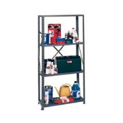 Edsal Mfg VL430 4-Shelf Steel Shelving Unit, Medium-Duty, 12 x 30 x 58-In.