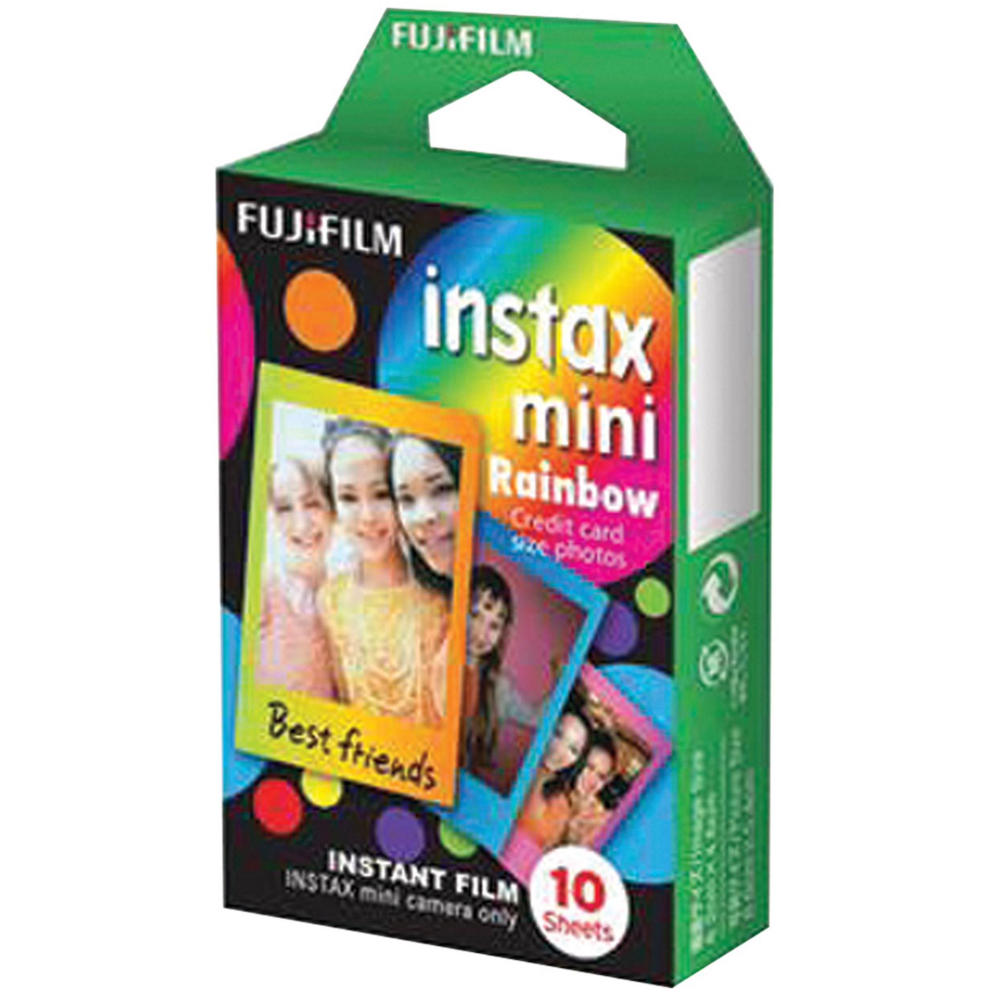 Fujifilm Instax Mini Rainbow Film Pack