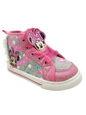 Product Image Disney Minnie Mouse Toddler Girls  Dotty High Top Sneaker 807293c9a919