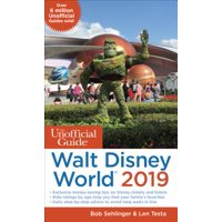 Unofficial guide to walt disney world 2019 - paperback: 9781628090819