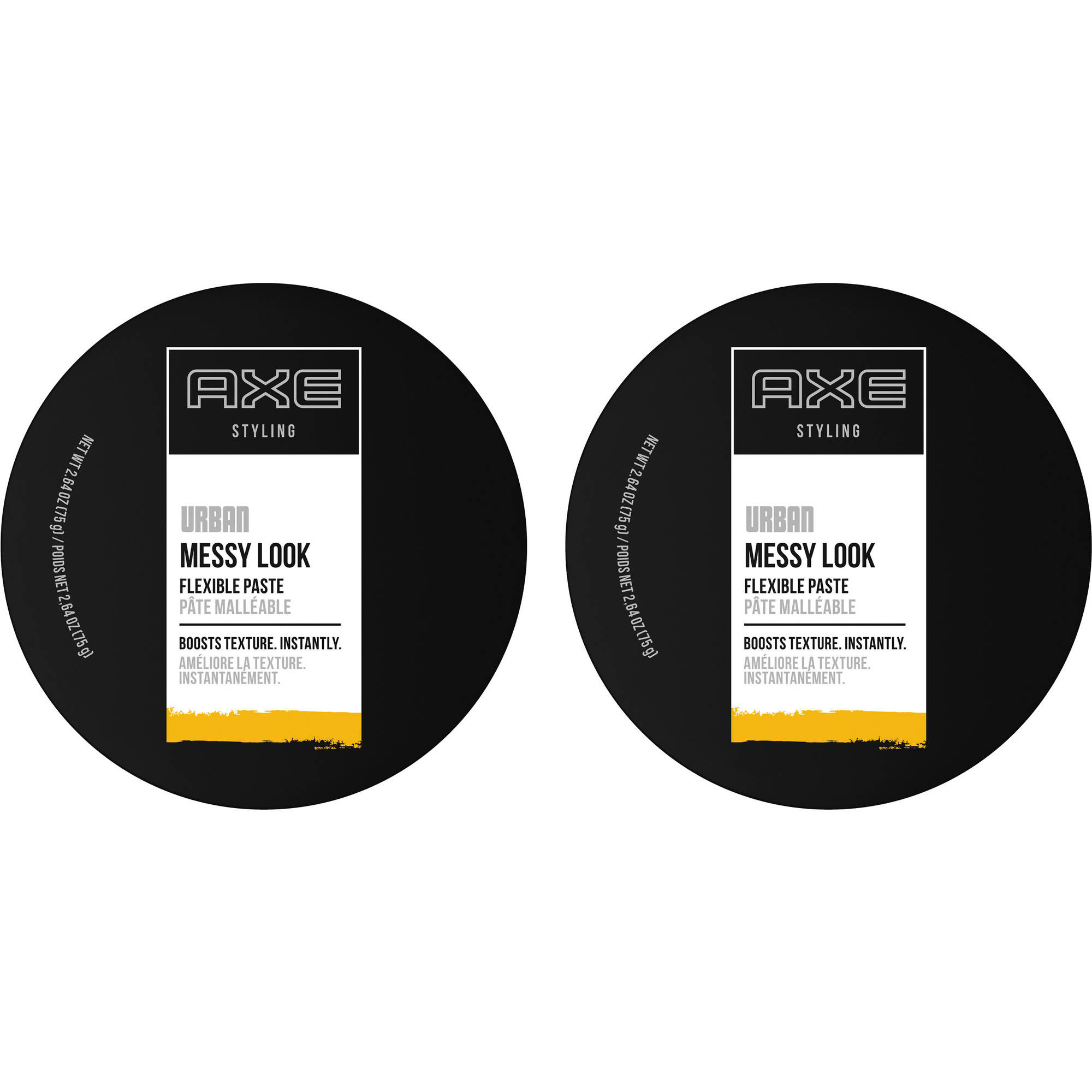 AXE Messy Look Flexible Hair Paste, 2.64 oz, 2 Count