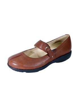 977f33680576 Product Image PEERAGE Deena Women Extra Wide Width Mary Jane Shoes BROWN 5.5