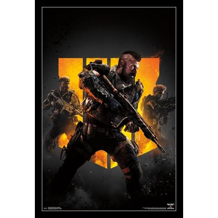 Group Art Poster (Call of Duty Black Ops 4 - Group Key Art Poster)