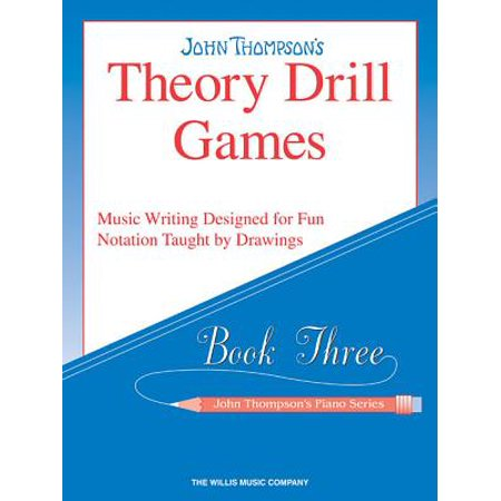 Theory Drill Games - Book 3 : Elementary Level - Halloween Music Theory Games