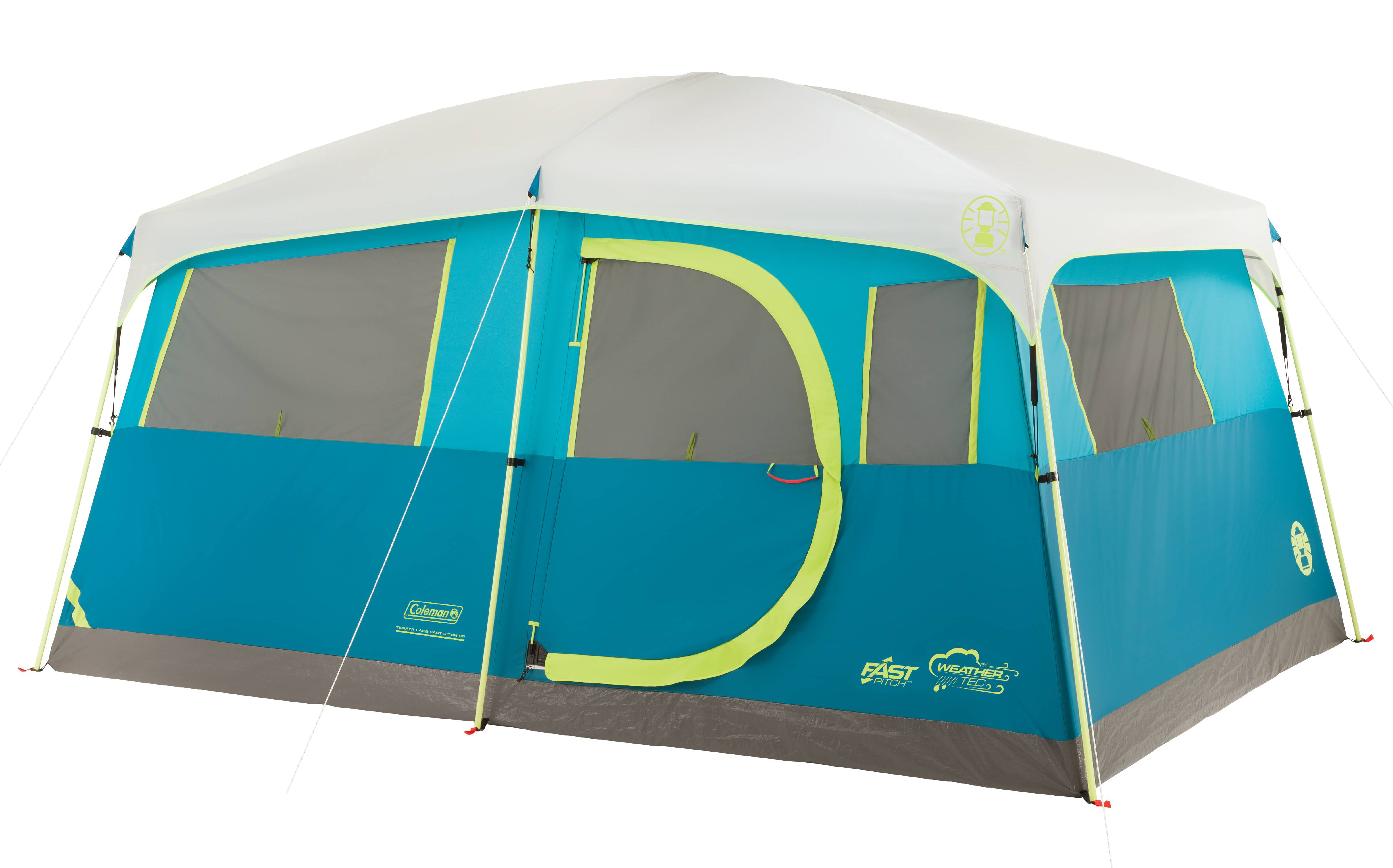 Coleman Tenaya Lake Fast Pitch 8-Person Cabin Tent with Closet by COLEMAN